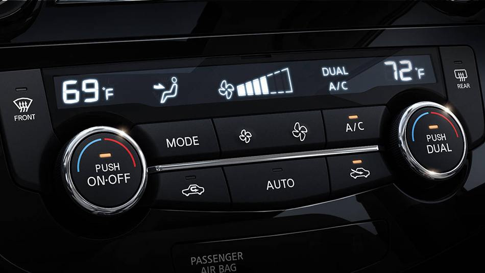 Qashqai-Dual Zone Automatic Temperature Control