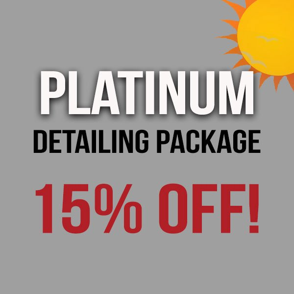 Platinum Detailing Package – Save 15%